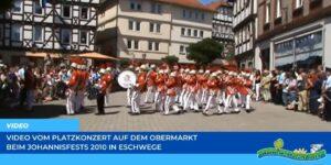 Read more about the article Werraland.net vor Ort – Video vom Platzkonzert auf dem Obermarkt beim Johannisfest 2010 in Eschwege