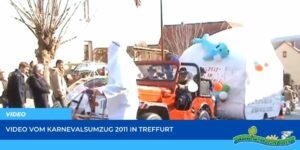 Read more about the article Werraland.net vor Ort – Video vom Karnevalsumzug 2011 in Treffurt
