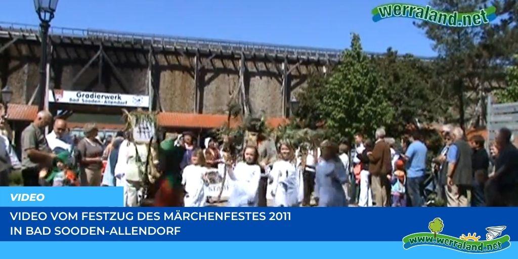 Read more about the article Werraland.net vor Ort – Video vom Festzug des Märchenfests 2011 in Bad Sooden-Allendorf