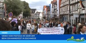 Read more about the article Werraland.net vor Ort – Video vom Johannisfest-Festzug 2011 in Eschwege