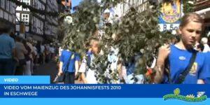 Read more about the article Werraland.net vor Ort – Video vom Maienzug beim Johannisfest 2010 in Eschwege