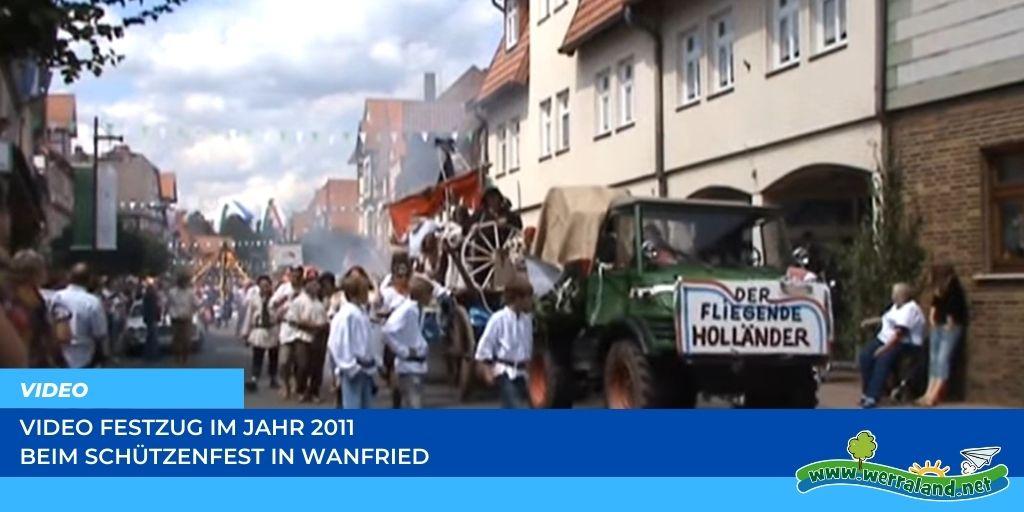 Read more about the article Werraland.net vor Ort – Video vom Festzug des Schützenfestes 2011 in Wanfried