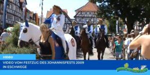 Read more about the article Werraland.net vor Ort – Video vom Johannisfest-Festzug 2009 in Eschwege