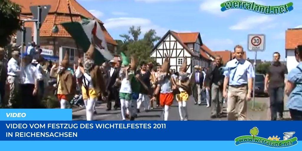 Read more about the article Werraland.net vor Ort – Video vom Festzug des Wichtelfestes 2011 in Reichensachsen
